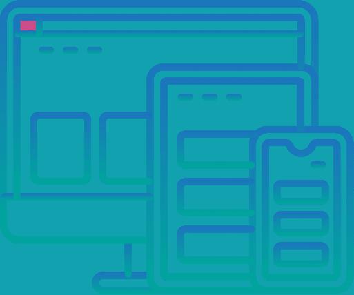 Responsive web design icon - multiple devices